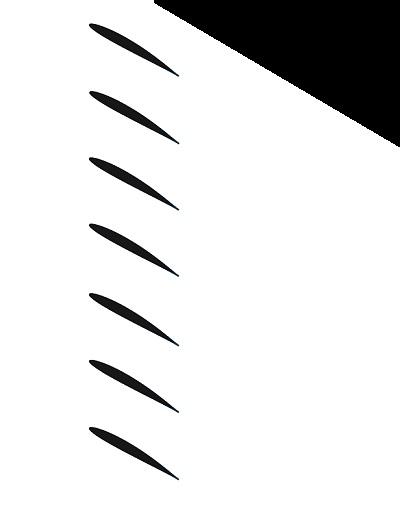 Cascade of blades Image